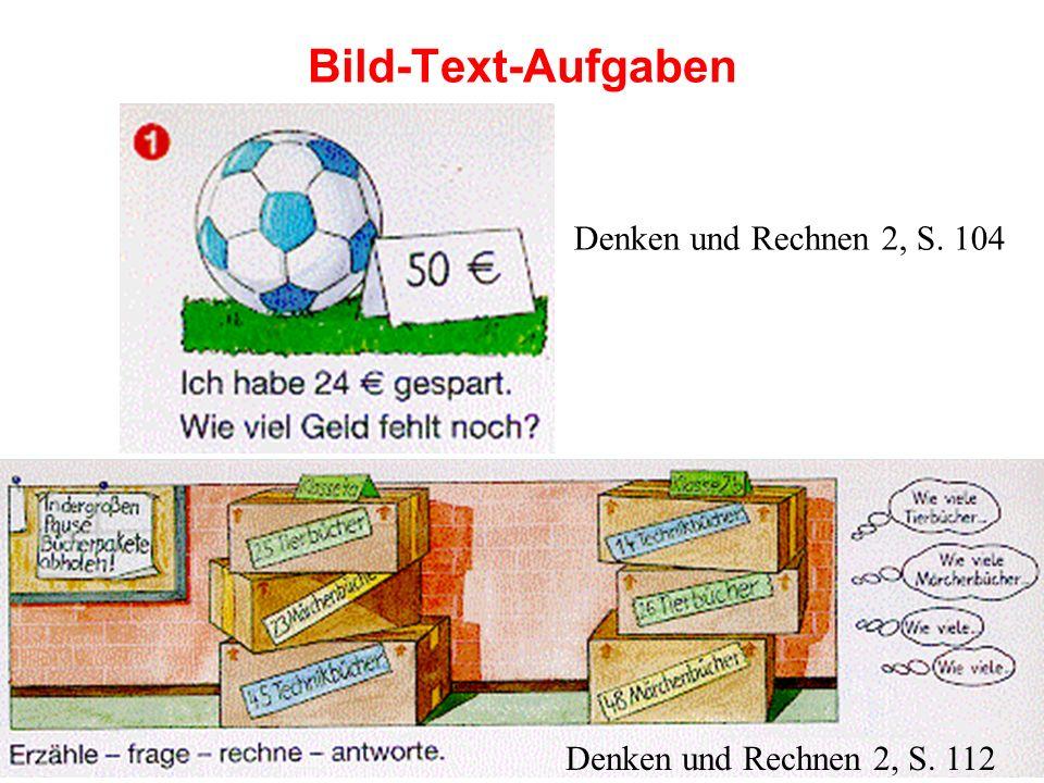 Bild-Text-Aufgaben Denken und Rechnen 2, S. 104