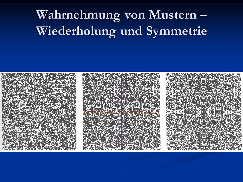 Wahrnehmung von Mustern – Wiederholung und Symmetrie