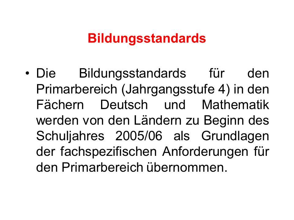 Bildungsstandards