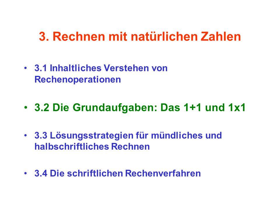 3. Rechnen mit natürlichen Zahlen