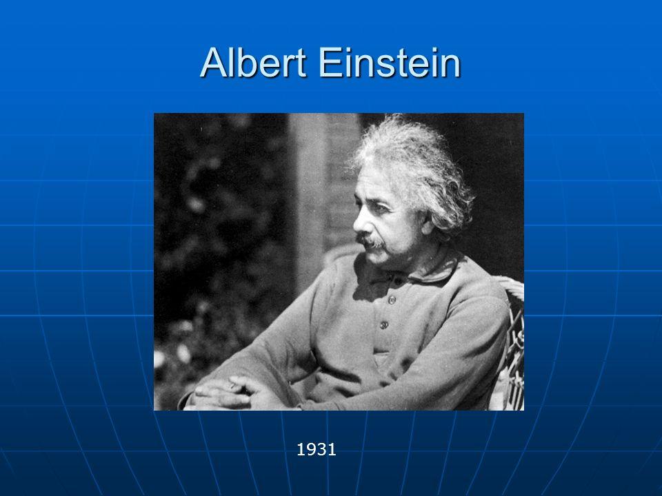 Albert Einstein 1931