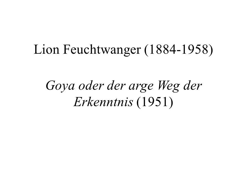 Goya oder der arge Weg der Erkenntnis (1951)