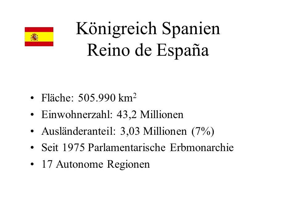 Königreich Spanien Reino de España