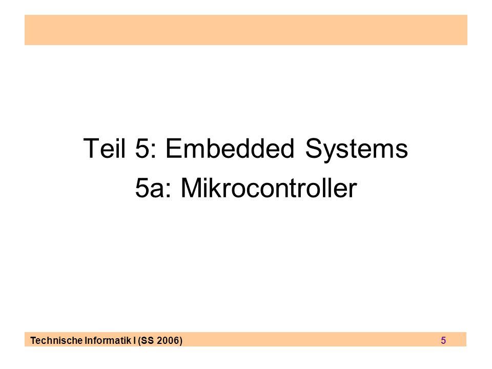 Teil 5: Embedded Systems