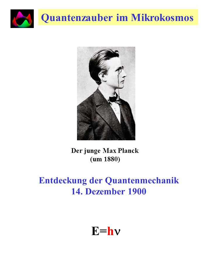 Entdeckung der Quantenmechanik