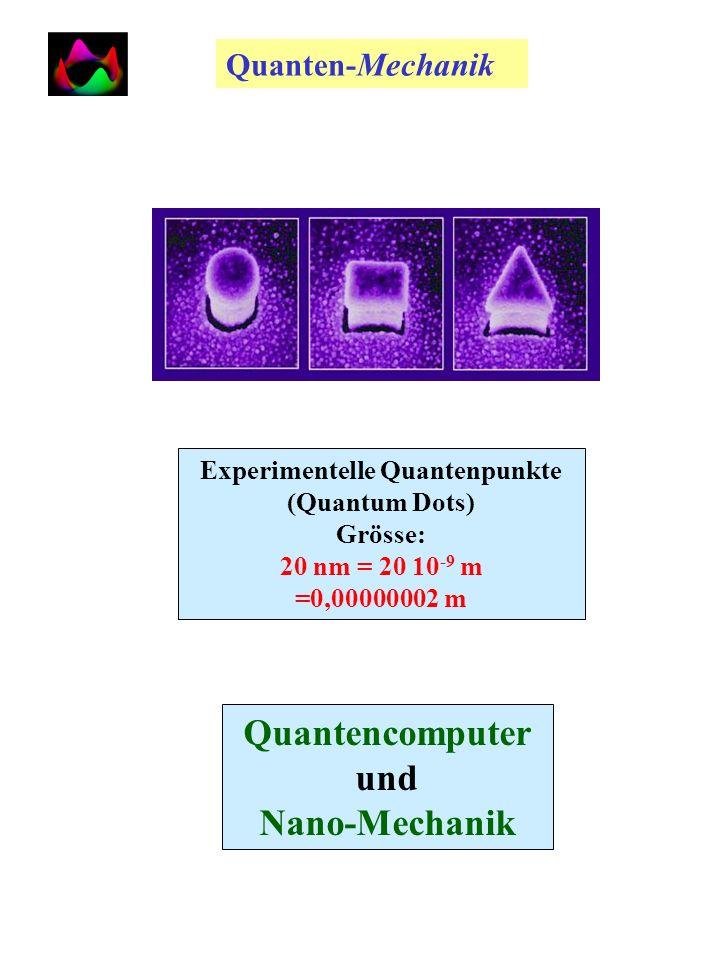 Experimentelle Quantenpunkte