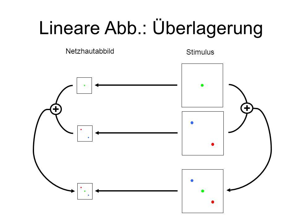 Lineare Abb.: Überlagerung