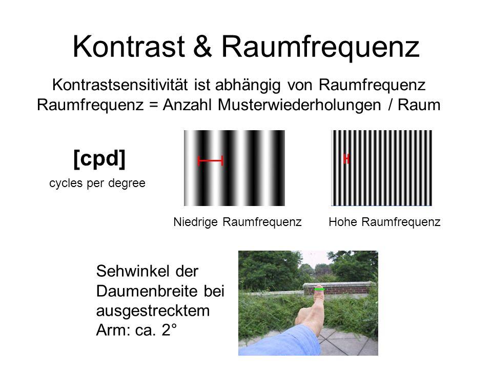 Kontrast & Raumfrequenz
