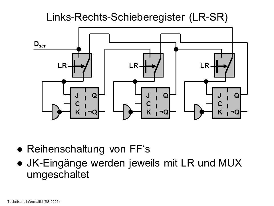 Links-Rechts-Schieberegister (LR-SR)