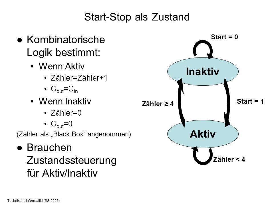 Start-Stop als Zustand