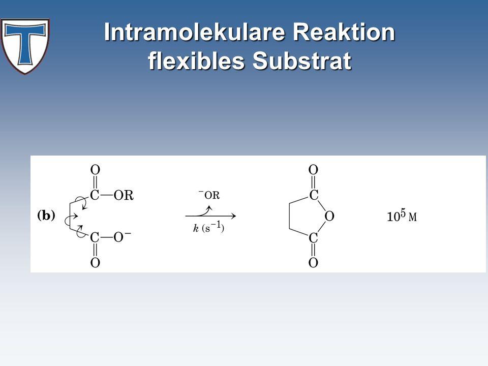Intramolekulare Reaktion flexibles Substrat