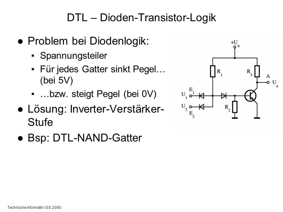 DTL – Dioden-Transistor-Logik