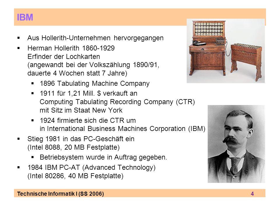 IBM Aus Hollerith-Unternehmen hervorgegangen