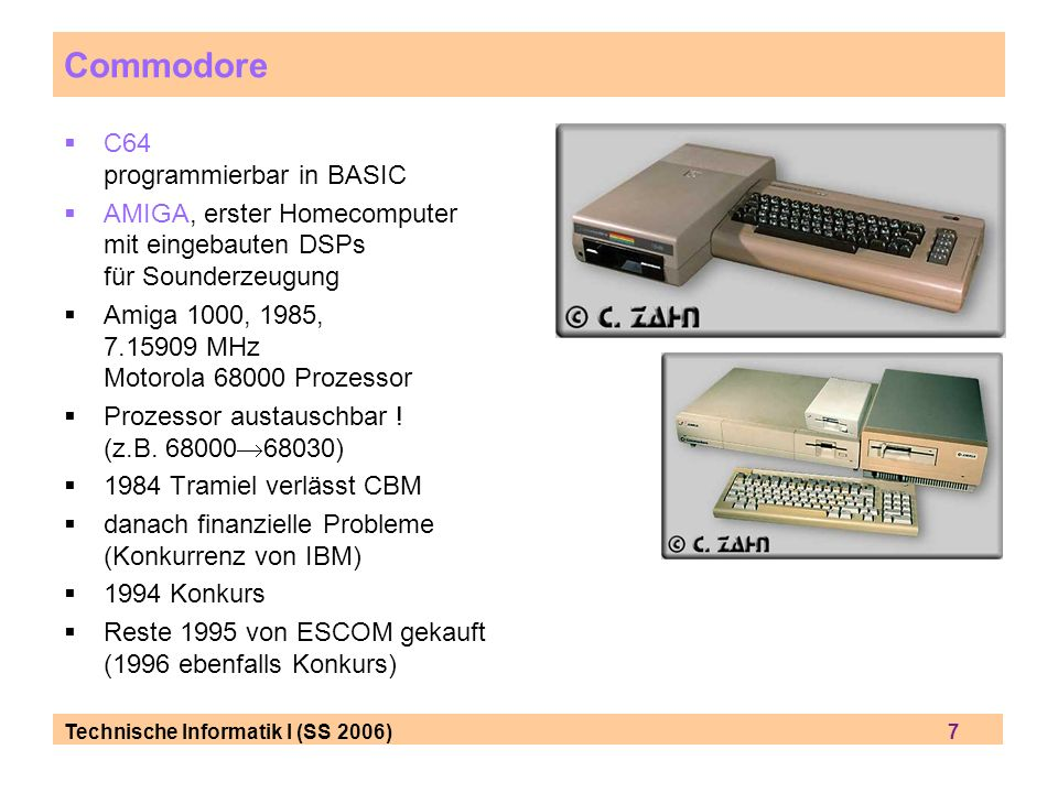 Commodore C64 programmierbar in BASIC