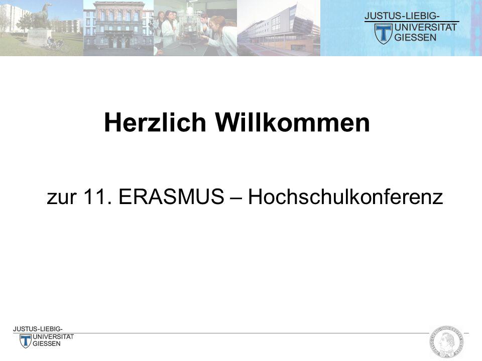 zur 11. ERASMUS – Hochschulkonferenz