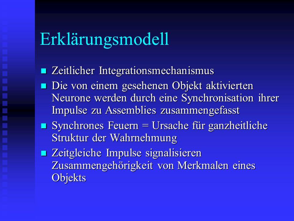 Erklärungsmodell Zeitlicher Integrationsmechanismus