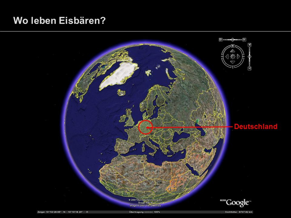 Wo leben Eisbären Deutschland