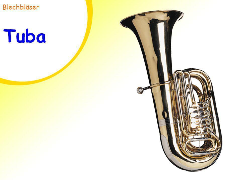 Blechbläser Tuba