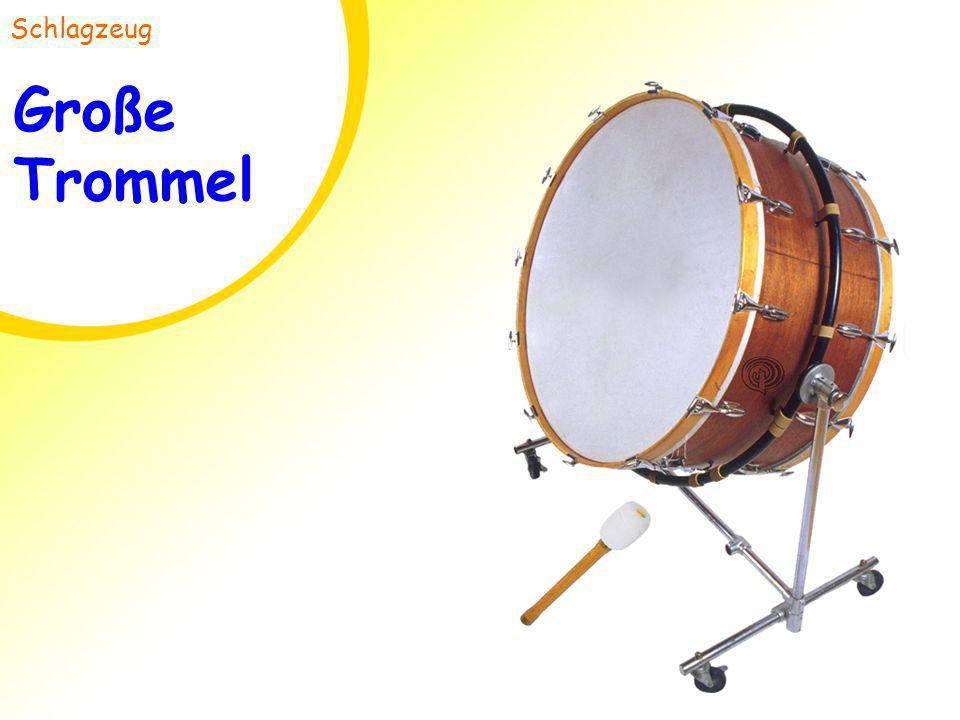 Schlagzeug Große Trommel