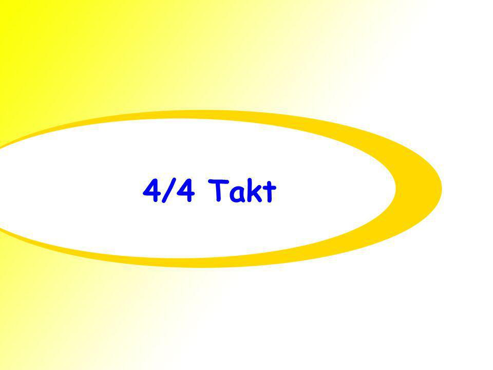 4/4 Takt