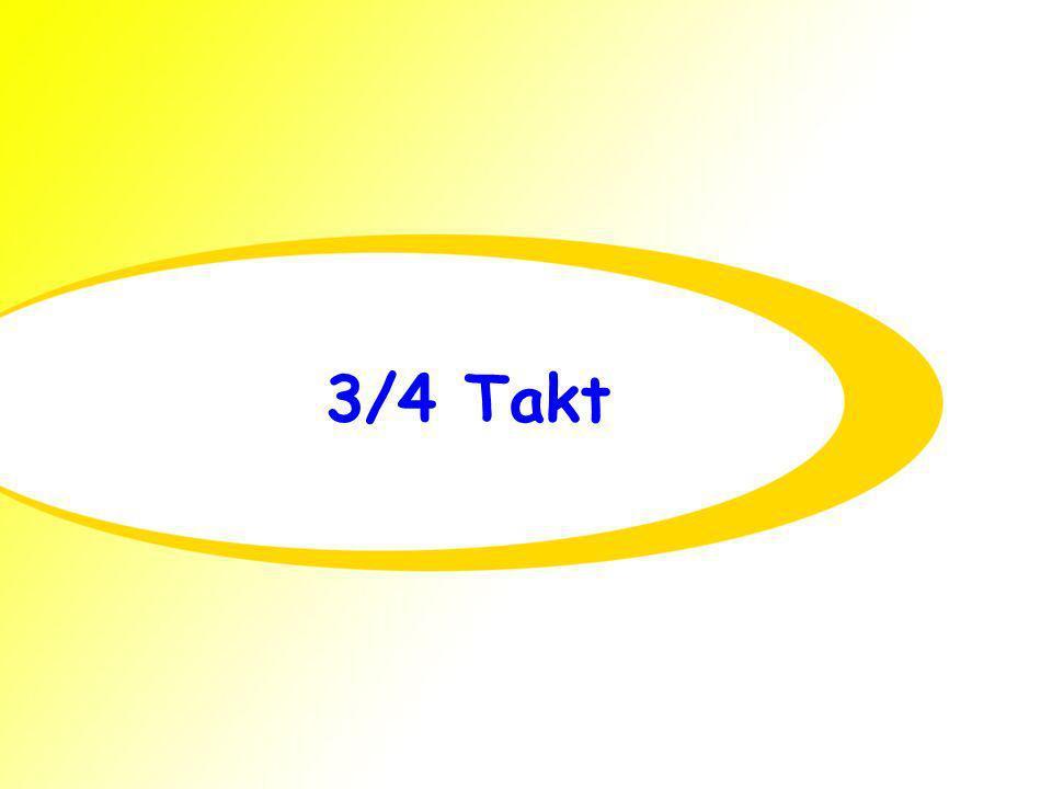3/4 Takt