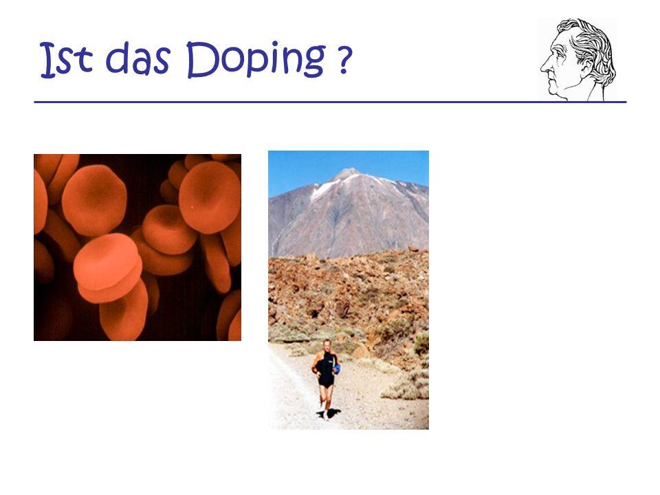 Ist das Doping
