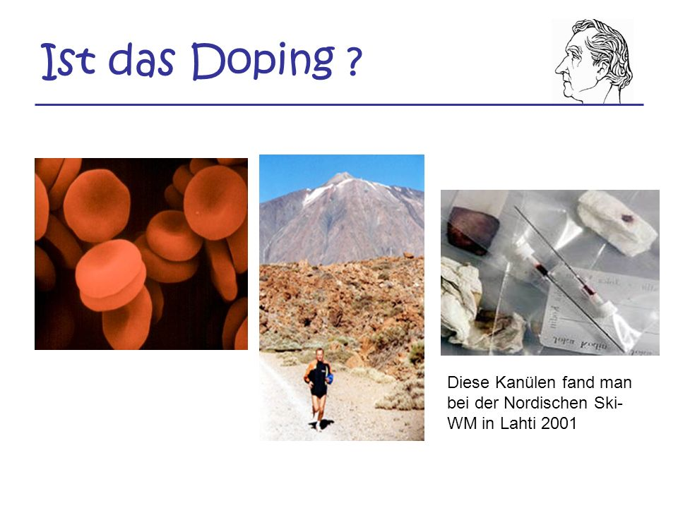 Ist das Doping Diese Kanülen fand man bei der Nordischen Ski-WM in Lahti 2001