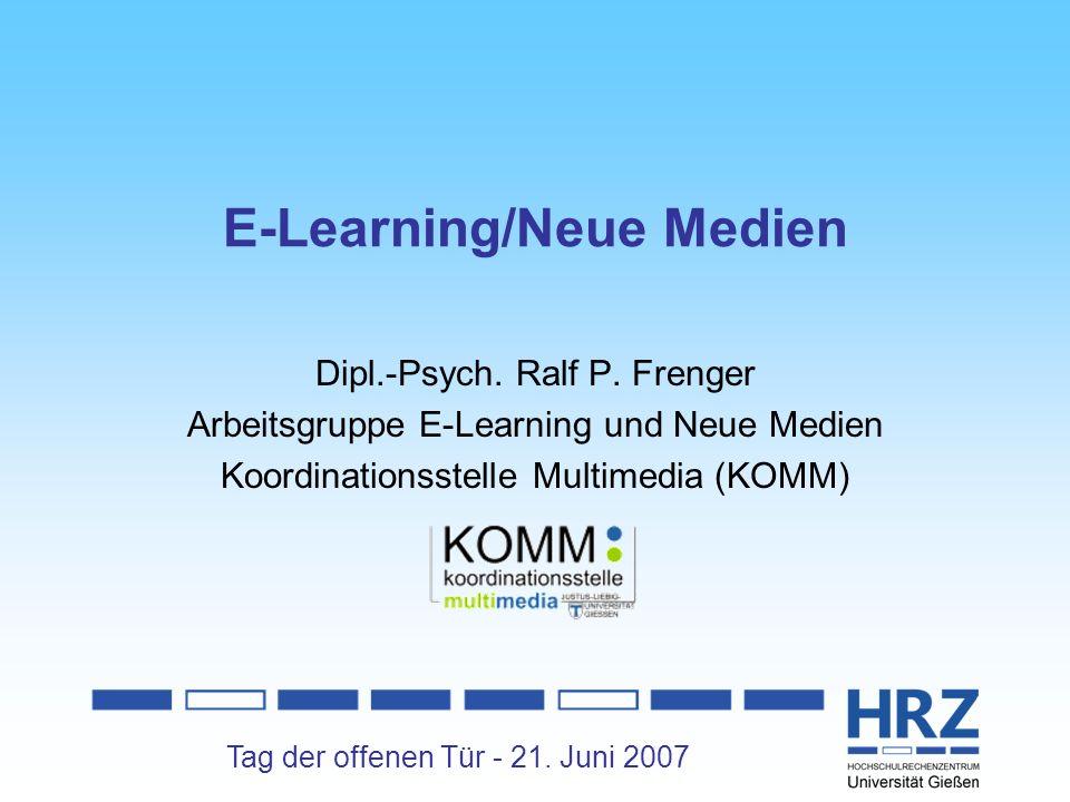 E-Learning/Neue Medien