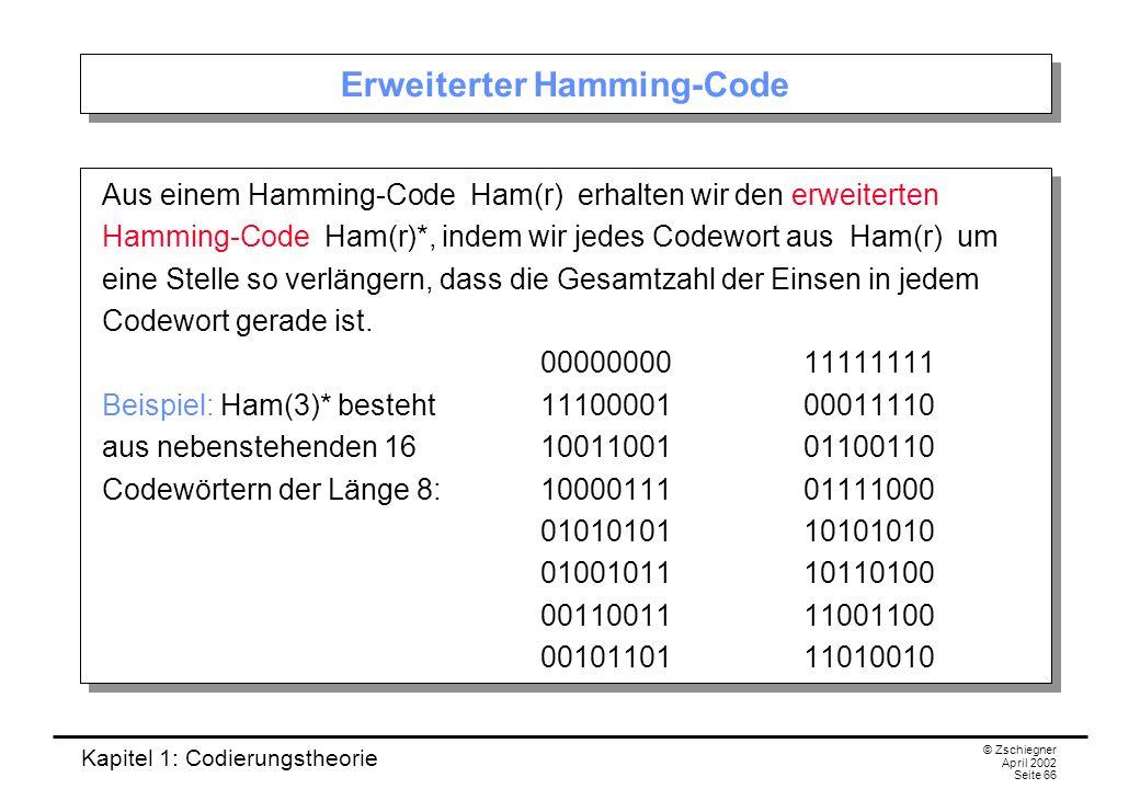 Erweiterter Hamming-Code