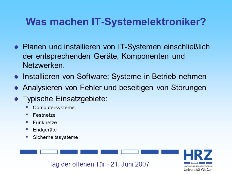 Was machen IT-Systemelektroniker