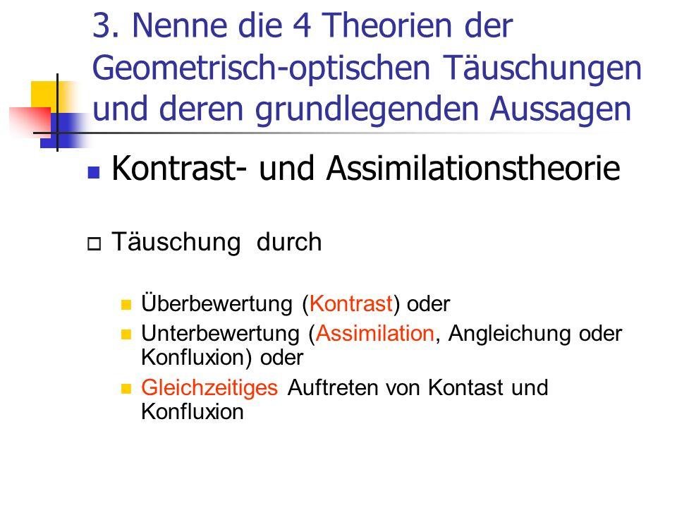 Kontrast- und Assimilationstheorie
