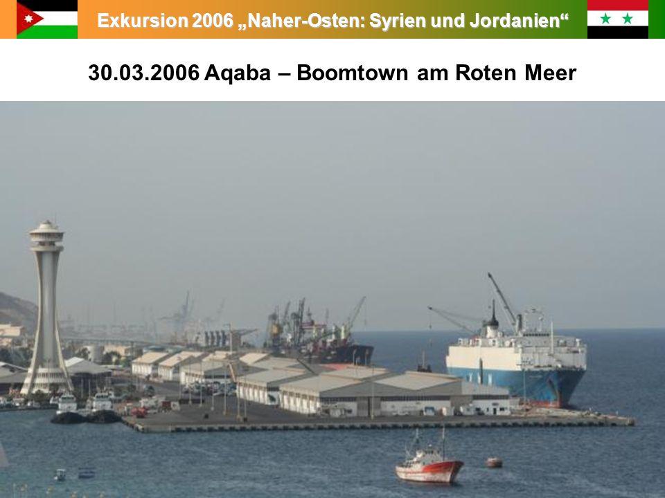 30.03.2006 Aqaba – Boomtown am Roten Meer