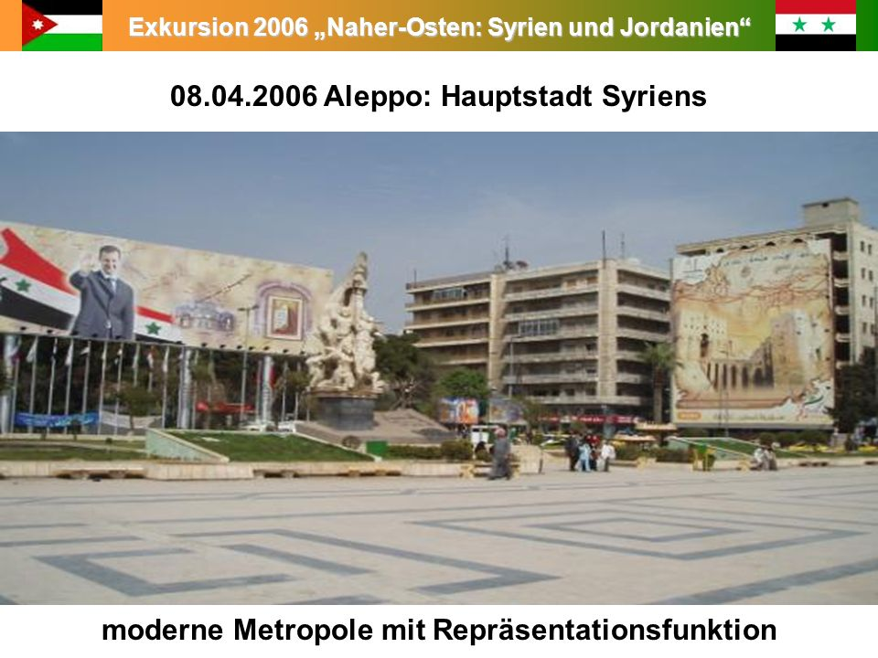08.04.2006 Aleppo: Hauptstadt Syriens