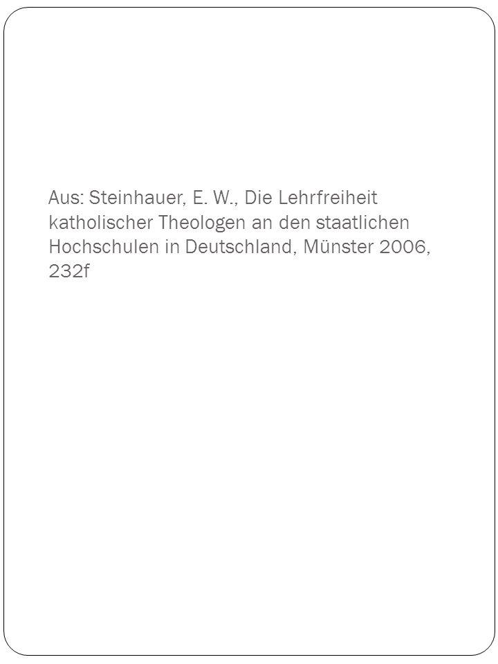 Aus: Steinhauer, E.