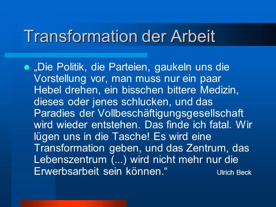 Transformation der Arbeit