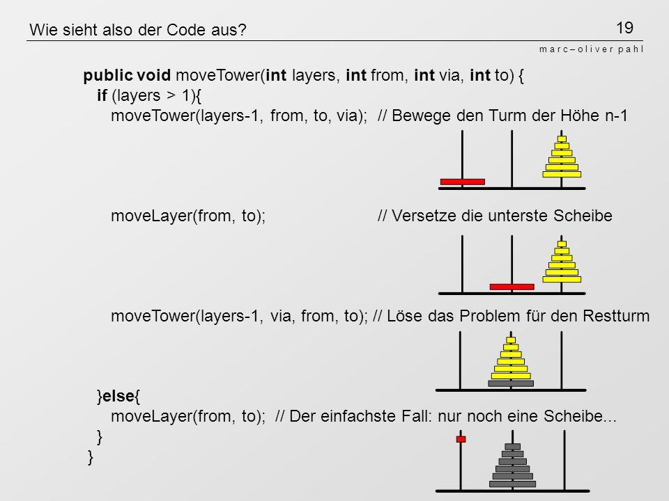 Wie sieht also der Code aus
