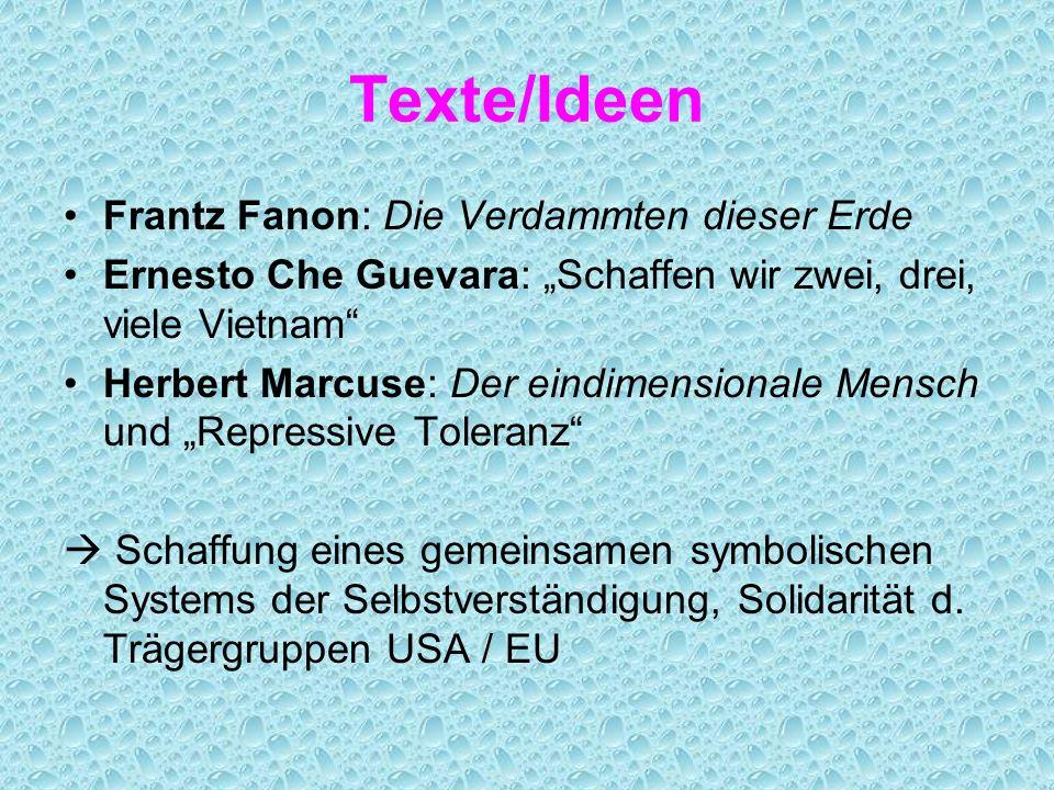 Texte/Ideen Frantz Fanon: Die Verdammten dieser Erde