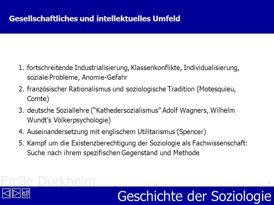 Gesellschaftliches und intellektuelles Umfeld