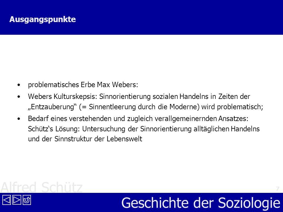 Ausgangspunkte problematisches Erbe Max Webers: