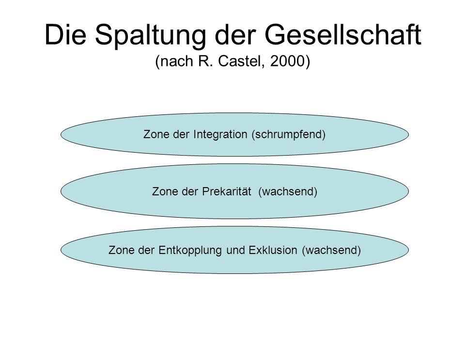Die Spaltung der Gesellschaft (nach R. Castel, 2000)