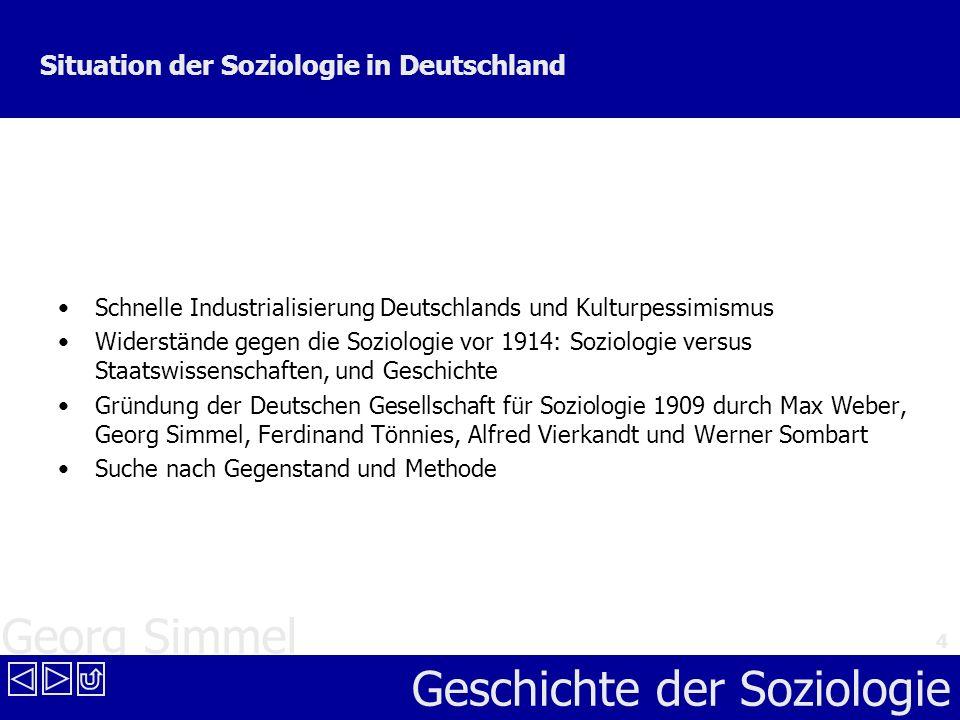 Situation der Soziologie in Deutschland