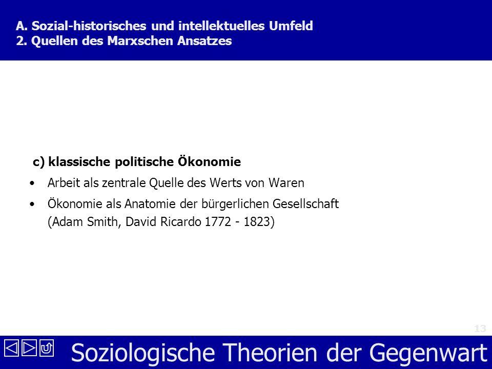 A. Sozial-historisches und intellektuelles Umfeld 2