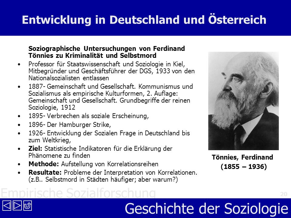 Entwicklung in Deutschland und Österreich
