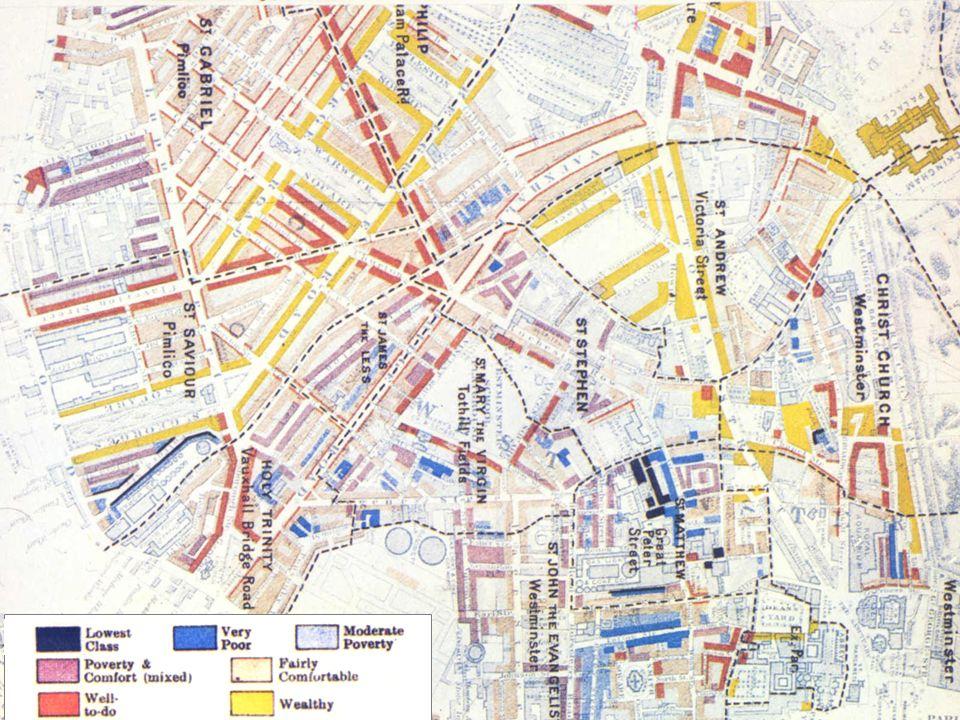 Charles Booths Untersuchung zur Lage der Arbeiter Londons Resultate