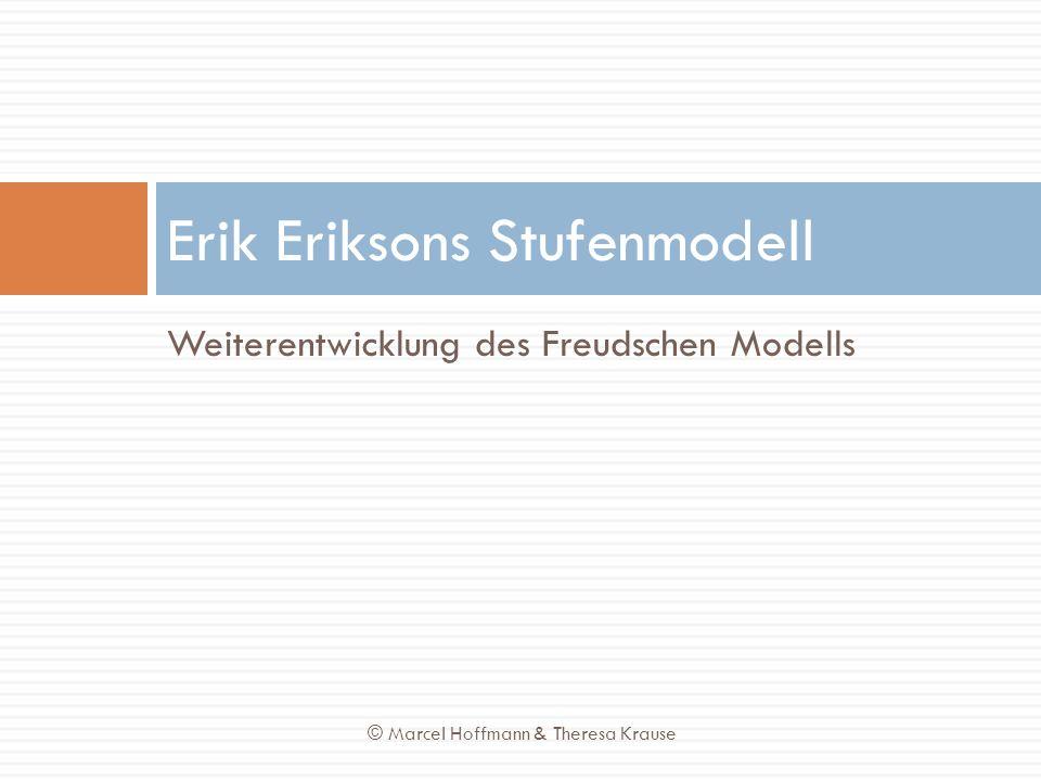 Erik Eriksons Stufenmodell