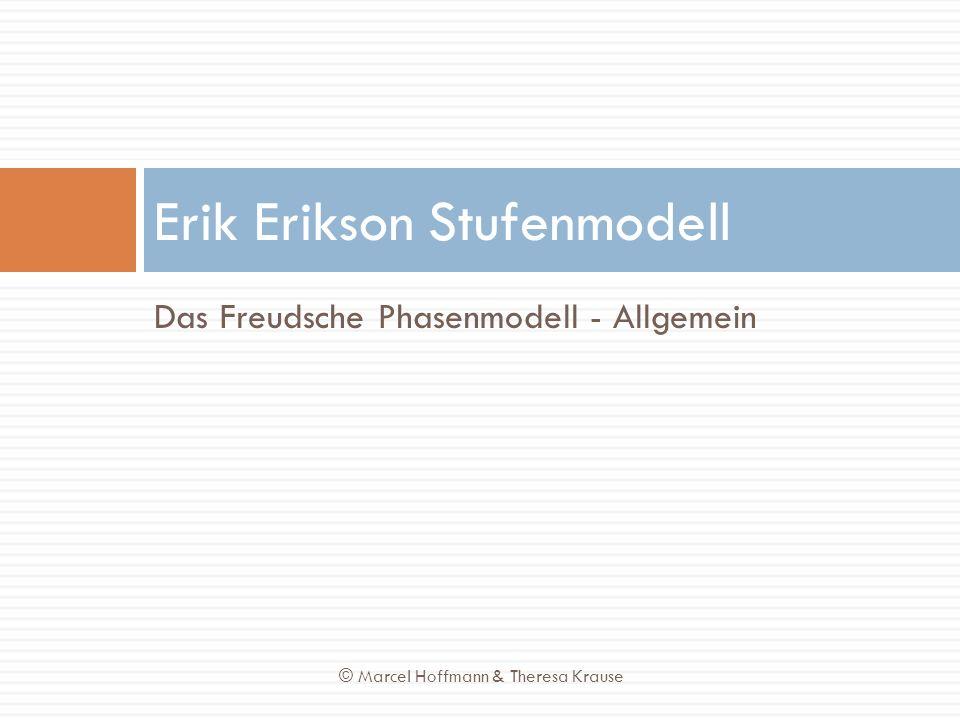 Erik Erikson Stufenmodell