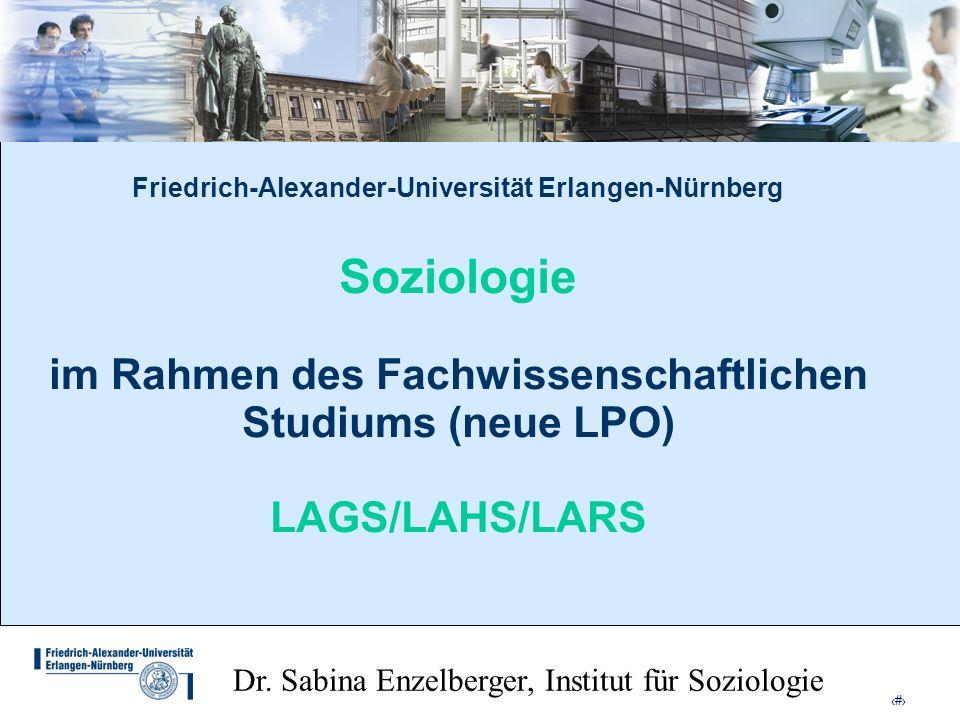 Dr. Sabina Enzelberger, Institut für Soziologie