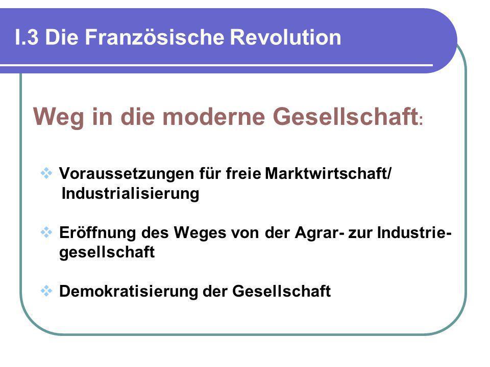 I.3 Die Französische Revolution