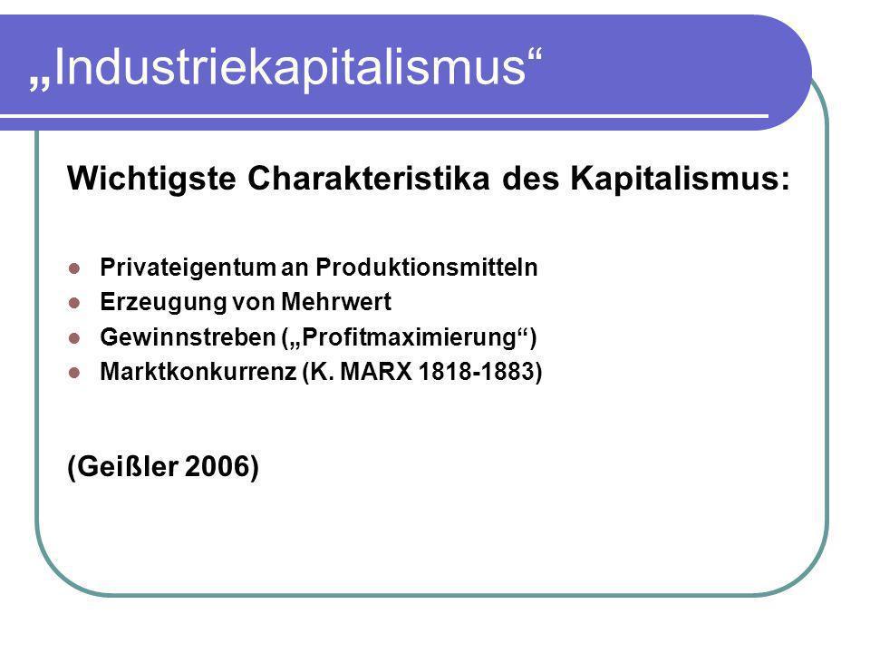 """Industriekapitalismus"