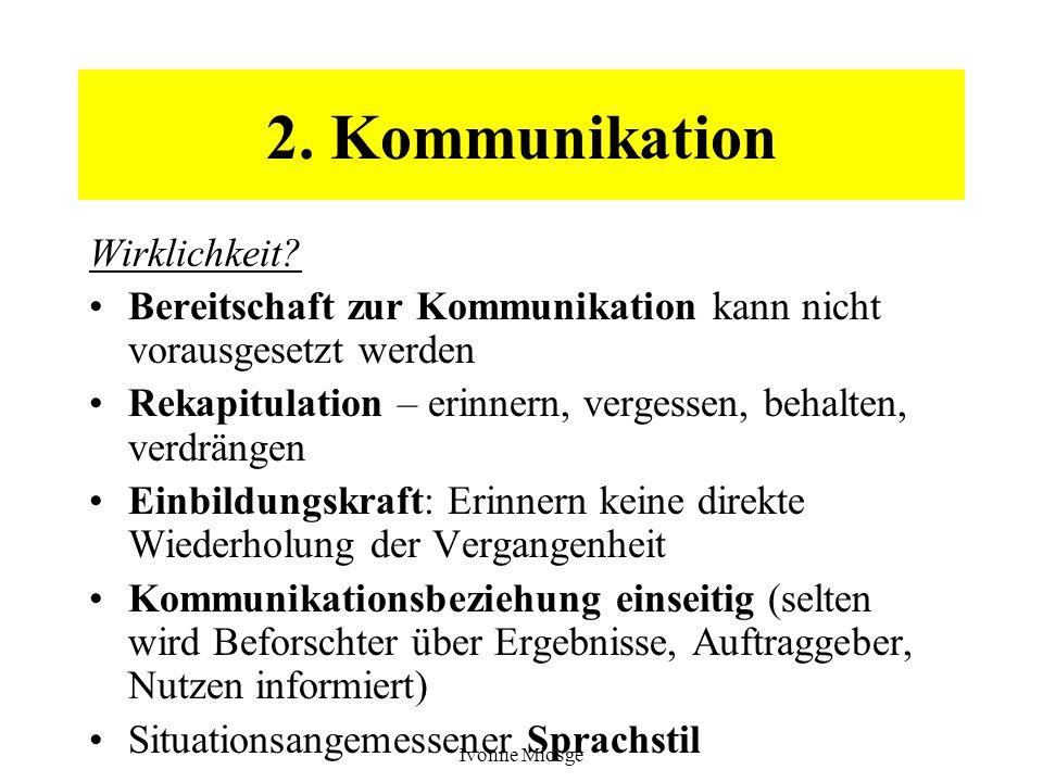 2. Kommunikation Wirklichkeit